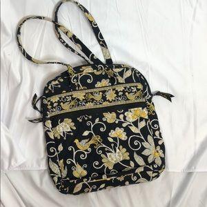 Vera Bradley black and gold purse